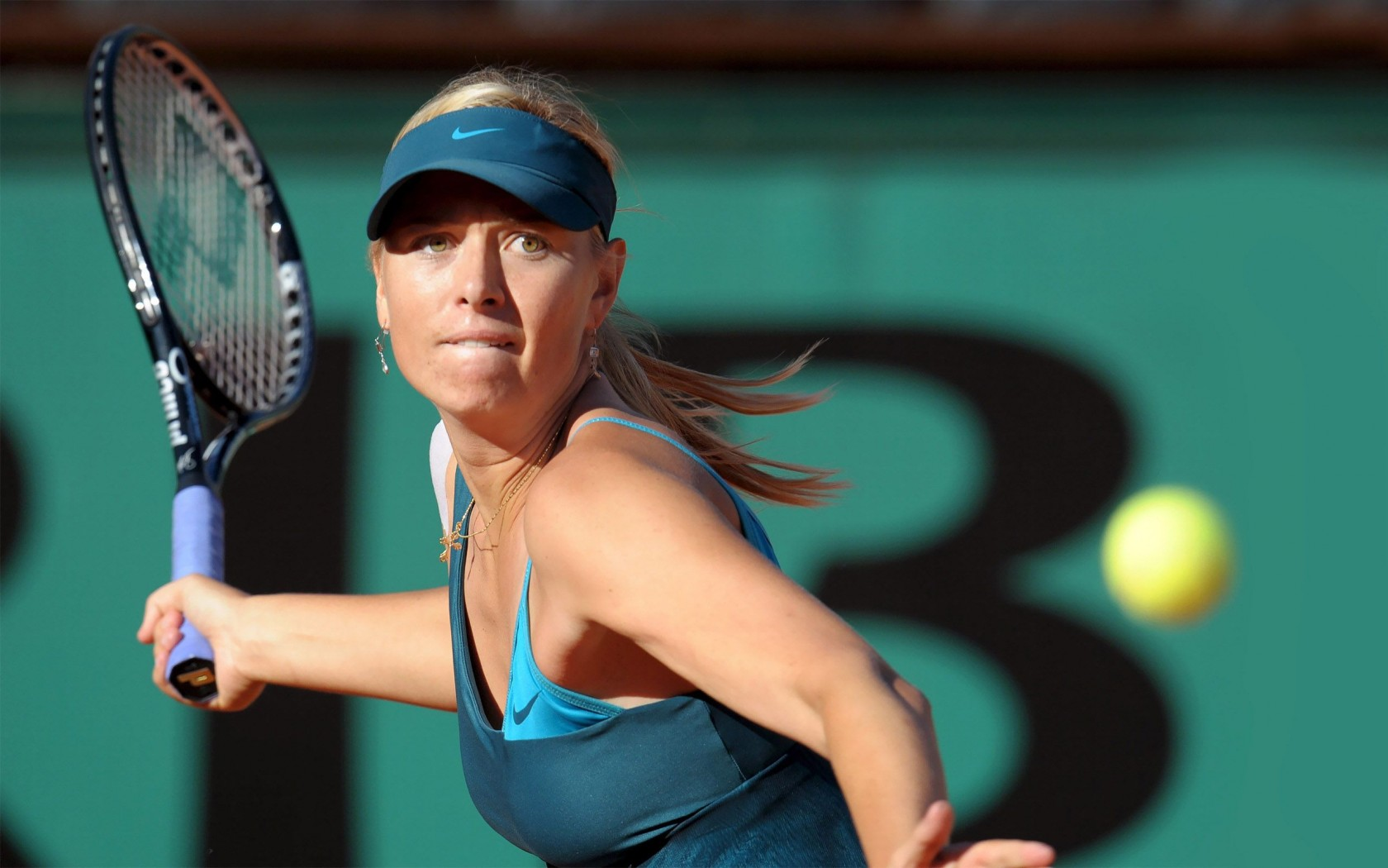 Maria Sharapova at Stuttgart Open
