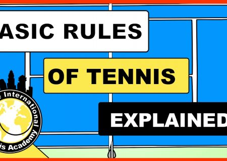 scores and rules of tennis explained